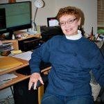 Janet Soute in office
